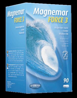 Complemento alimenticio Magnemar Fuerza 3 Orthonat